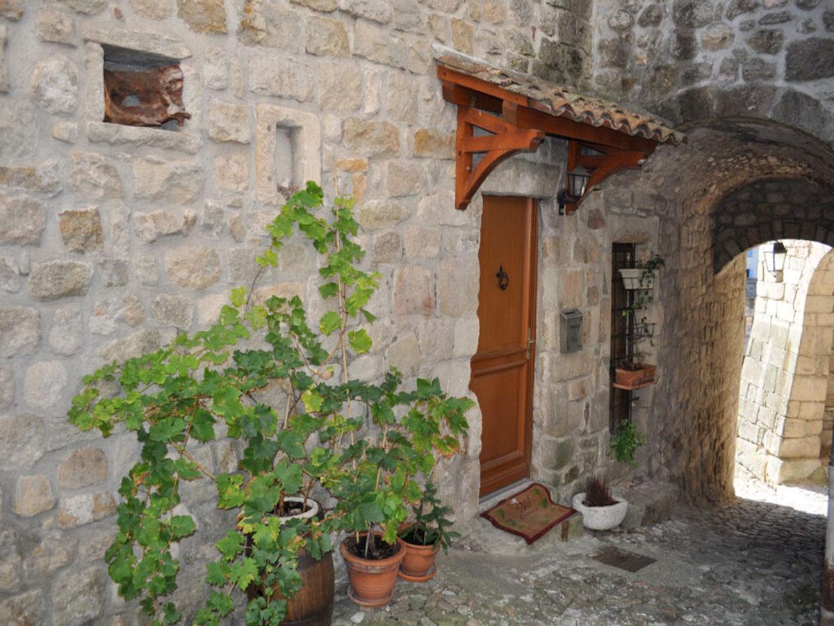 Facade maison médiévale