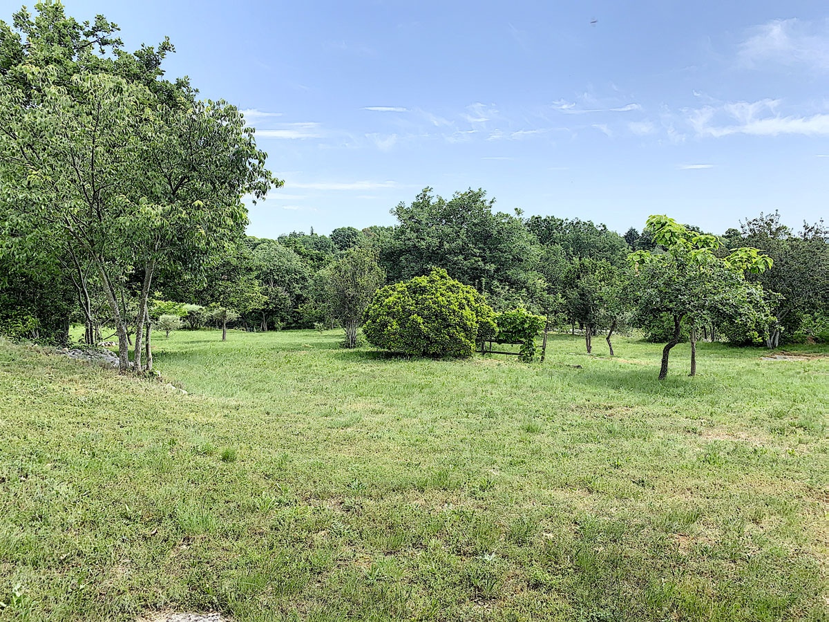 grand jardin en Ardeche