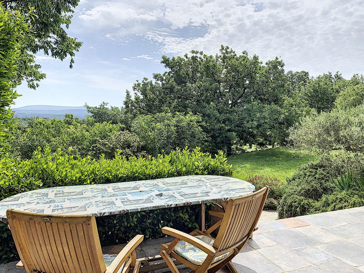 terrasse avec vue