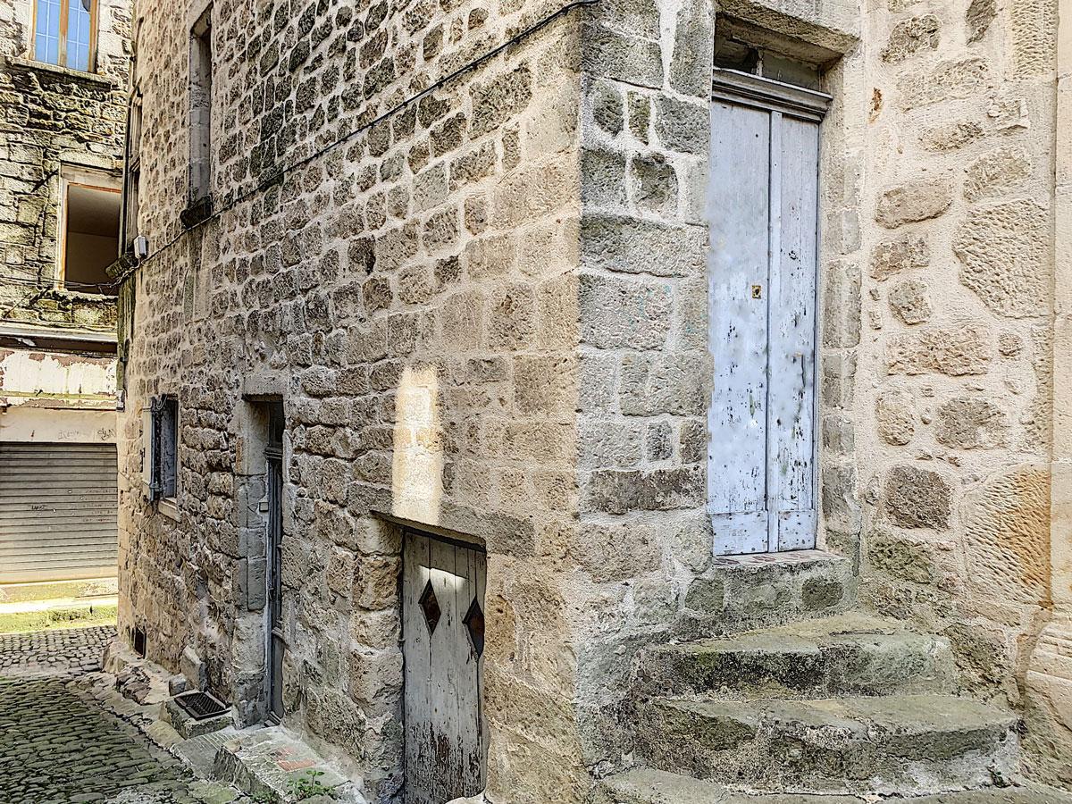 Maison de village Largentiere Ardeche