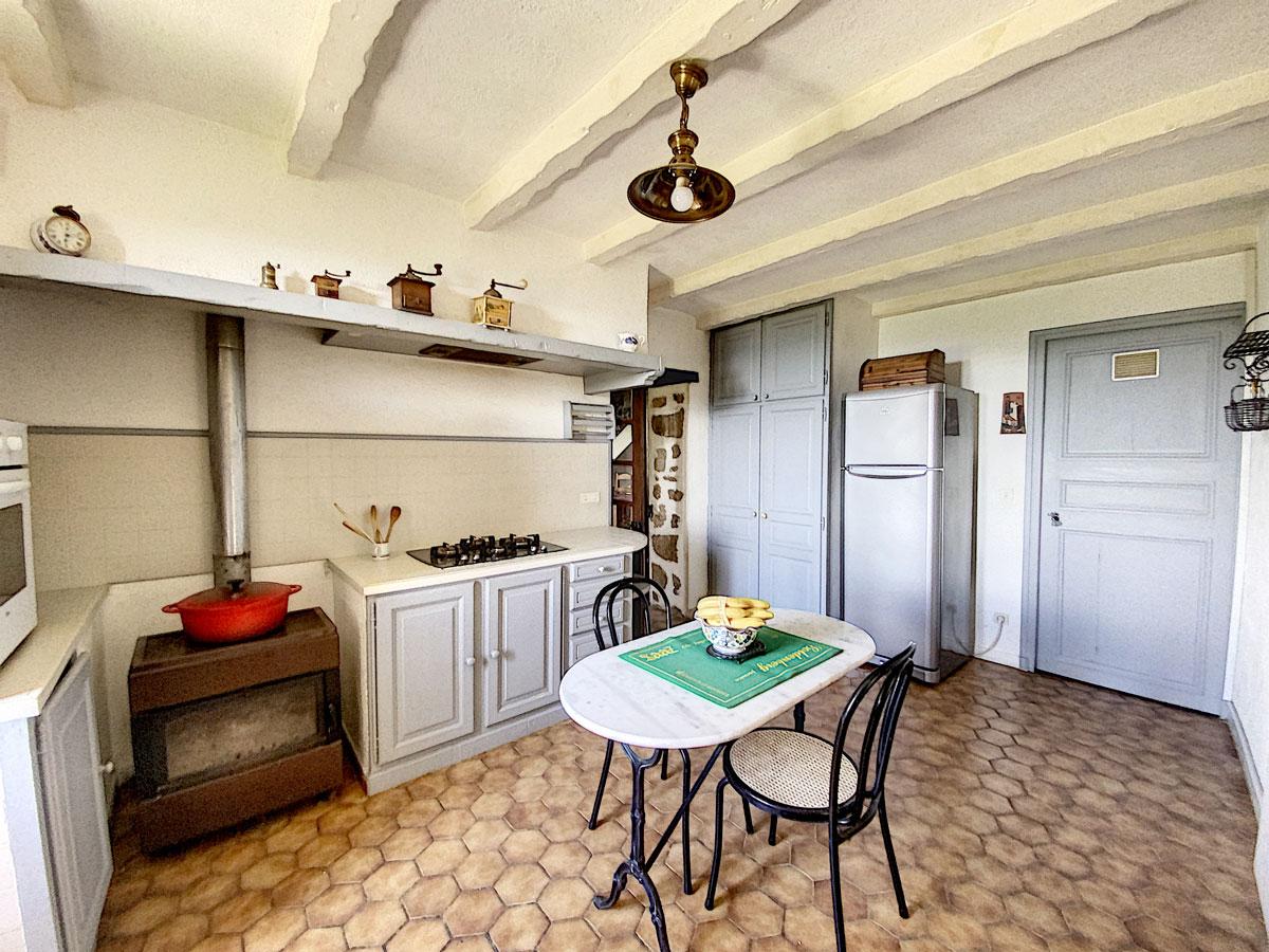 Cuisine maison de campagne Ardèche